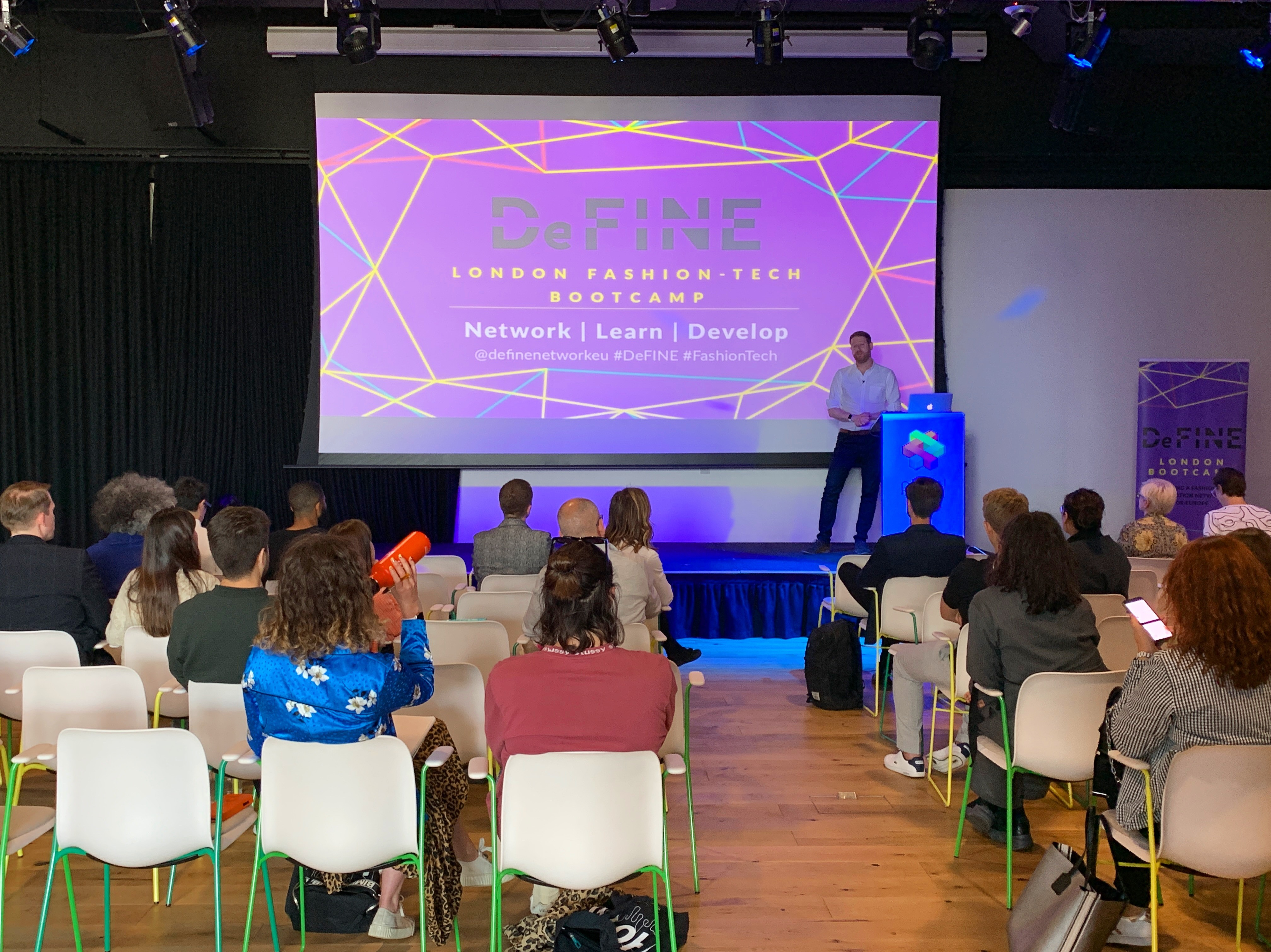 Två startups från Borås på fashion tech-bootcamp i London