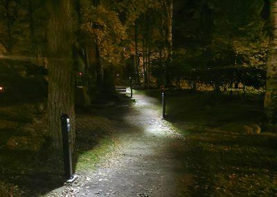 Dekatech – Belysningspollare med LED-lampor för klimatsmart upplysning i otillgängliga miljöer