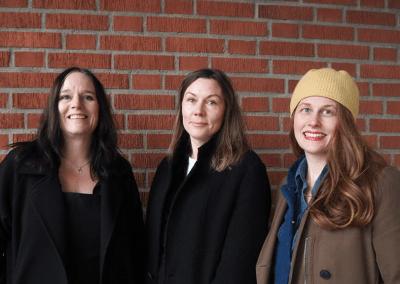 INK LAB blev början på ett samarbete för Textilfabriken och Flory