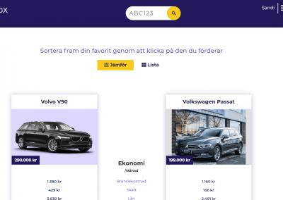 Trivox – köp rätt bil med Tinder-funktion och komplett ekonomisk överblick